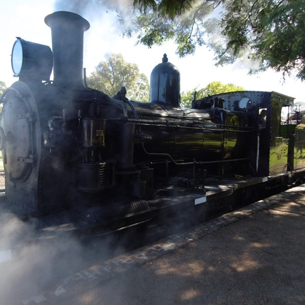 Steam Locomotive at Thirlmere Station