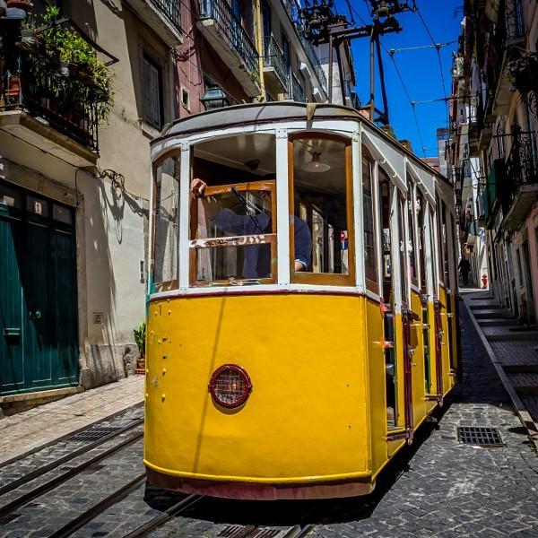 """Lisbon - """"Bica Funicular"""""""