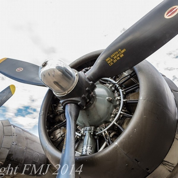 Curtiss-Wright Radial Engine
