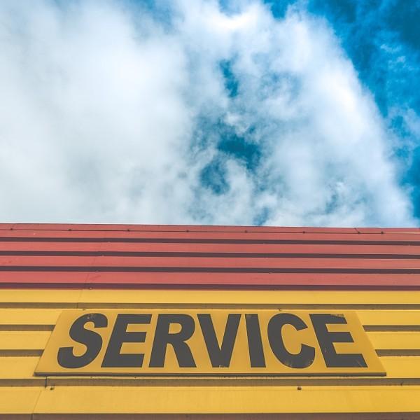 Auto Service Repair Sign