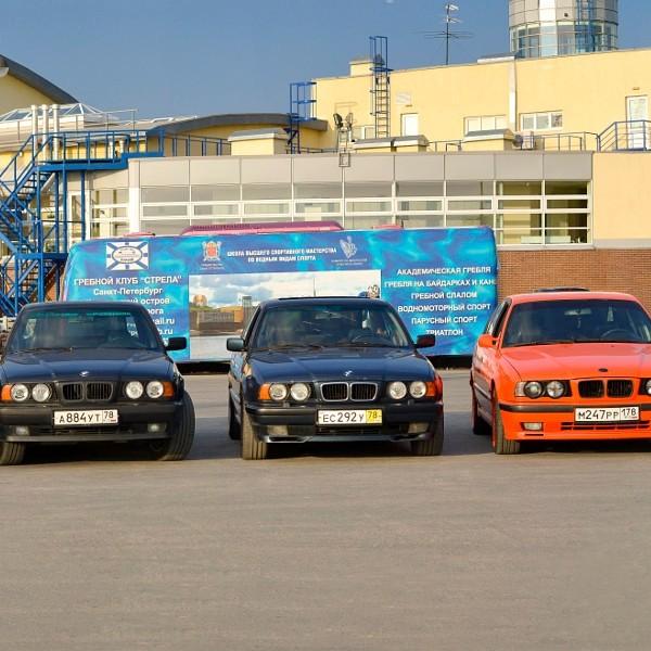 Old-car BMW 5-series e34