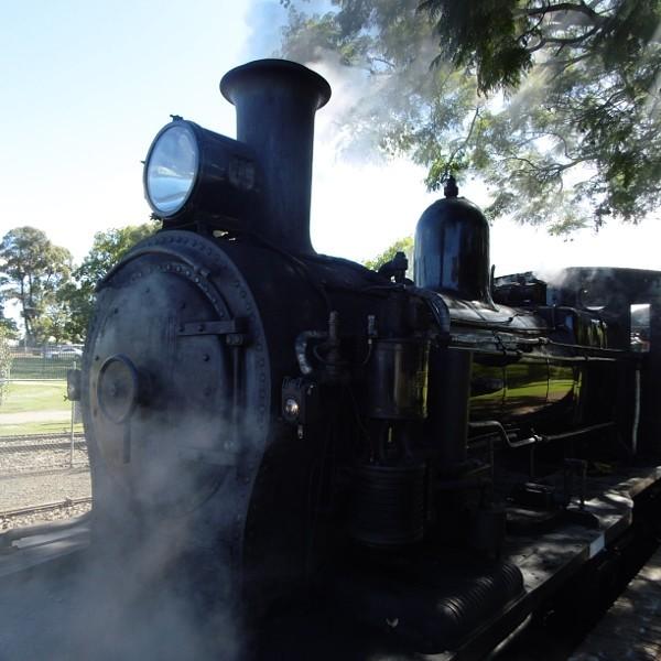 Steam Locomotive at Thirlmere Station